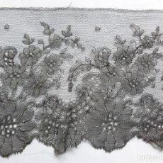 Antigüedades: ANTIGUO ENCAJE CHANTILLY S.XIX. Lote 176219103