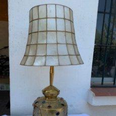 Antigüedades: ORIGINAL LAMPARA EN BRONCE. Lote 176224255