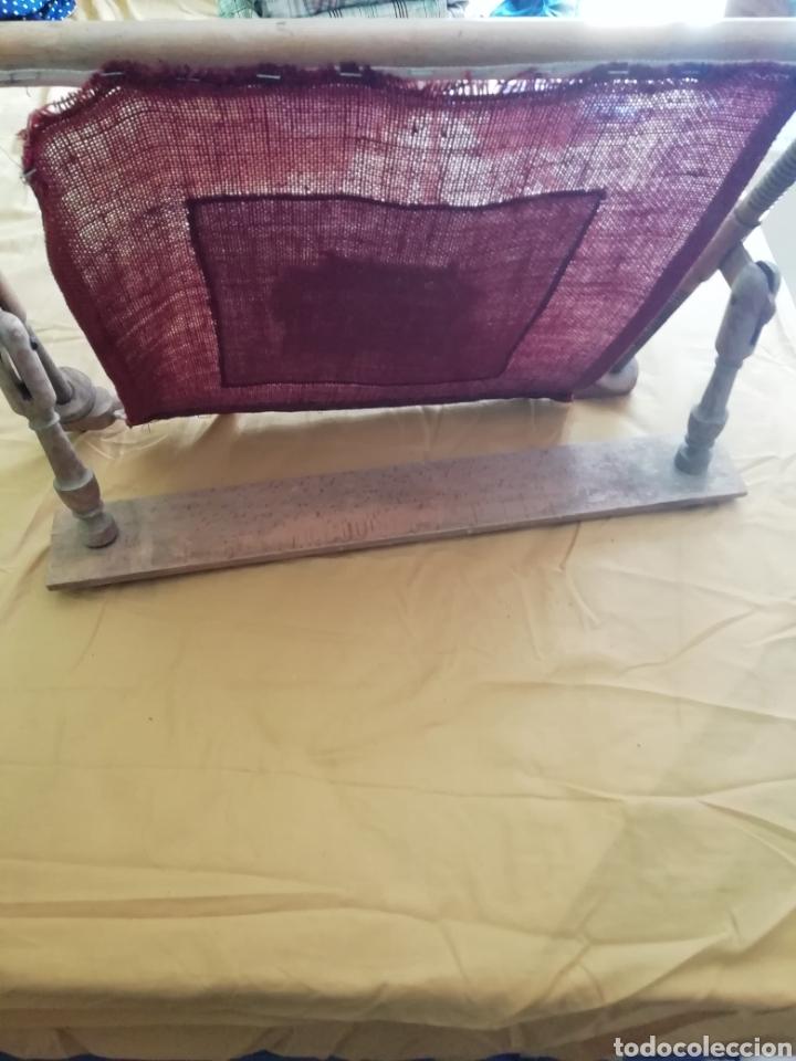 Antigüedades: Bordado punto de cruz en bastidor - Foto 3 - 176259818