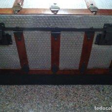 Antigüedades: ANTIGUO BAUL GRANDE RESTAURADO. Lote 119918031