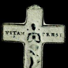 Antigüedades: CRUZ RELIGIOSA, SIGLOS XVI-XVII, 38X25 MM. Lote 150963386