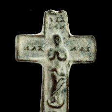 Antigüedades: CRUZ RELIGIOSA SIGLOS XVI-XVII, 27X19 MM.. Lote 158151902
