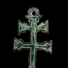 Antigüedades: CRUZ RELIGIOSA, SIGLOS XVI-XVII, 30X15 MM.. Lote 158153250