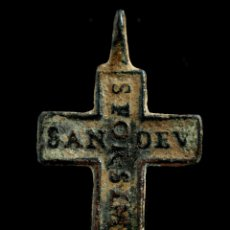Antigüedades: CRUZ RELIGIOSA, SIGLO XVI-XVII, 33X19 MM.. Lote 158153966