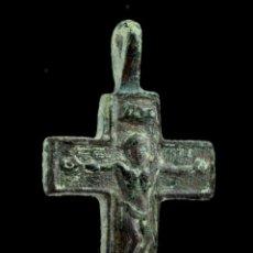 Antigüedades: CRUZ RELIGIOSA, SIGLO XVI-XVII, 34X19 MM.. Lote 158154510