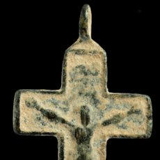 Antigüedades: CRUZ RELIGIOSA, SIGLOS XVI-XVII, 44X23 MM.. Lote 158310226