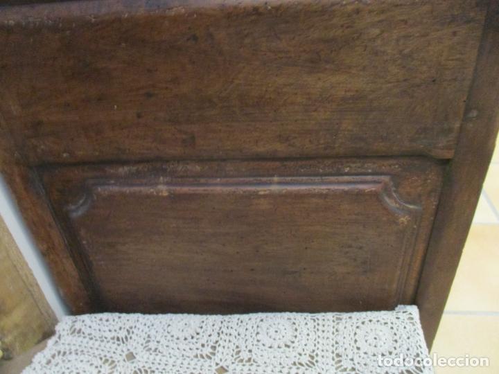 Antigüedades: Antiguo Armario Barroco Catalán - Carlos III - Madera de Nogal - Tiradores de Bronce - S. XVIII - Foto 17 - 176313244