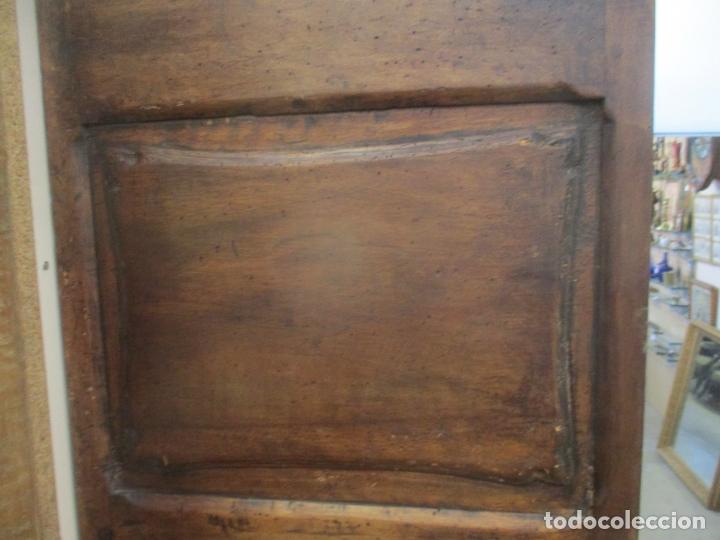 Antigüedades: Antiguo Armario Barroco Catalán - Carlos III - Madera de Nogal - Tiradores de Bronce - S. XVIII - Foto 19 - 176313244