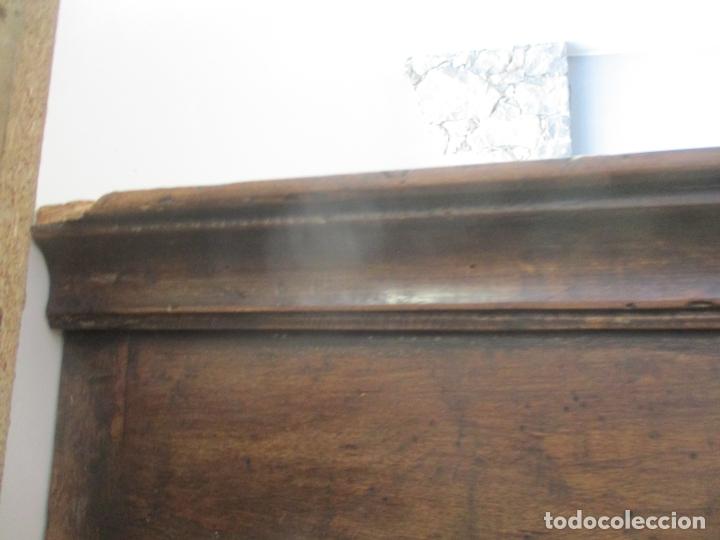 Antigüedades: Antiguo Armario Barroco Catalán - Carlos III - Madera de Nogal - Tiradores de Bronce - S. XVIII - Foto 21 - 176313244