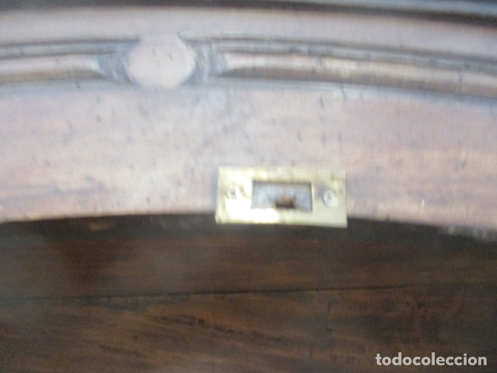 Antigüedades: Antiguo Armario Barroco Catalán - Carlos III - Madera de Nogal - Tiradores de Bronce - S. XVIII - Foto 28 - 176313244
