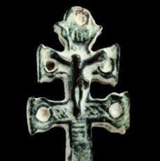 Antigüedades: CRUZ RELIGIOSA, SIGLOS XVI-XVII, 35X17 MM.. Lote 158153686