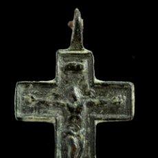 Antigüedades: CRUZ RELIGIOSA, SIGLO XVI-XVII, 33X20 MM.. Lote 158154366