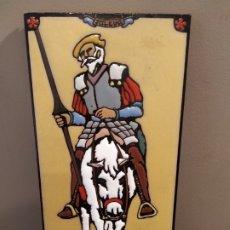 Antigüedades: ST GERMIER QUIJOTE - CUERDA SECA . Lote 176314364