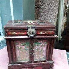 Antigüedades: JOYERO ORIENTAL ANTIGUO. Lote 176363618