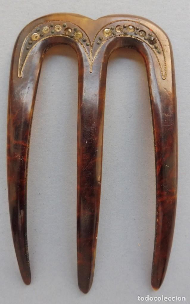 ANTIGUA PEINETA PRIMERA MITAD S. XX (Antigüedades - Moda - Peinetas Antiguas)