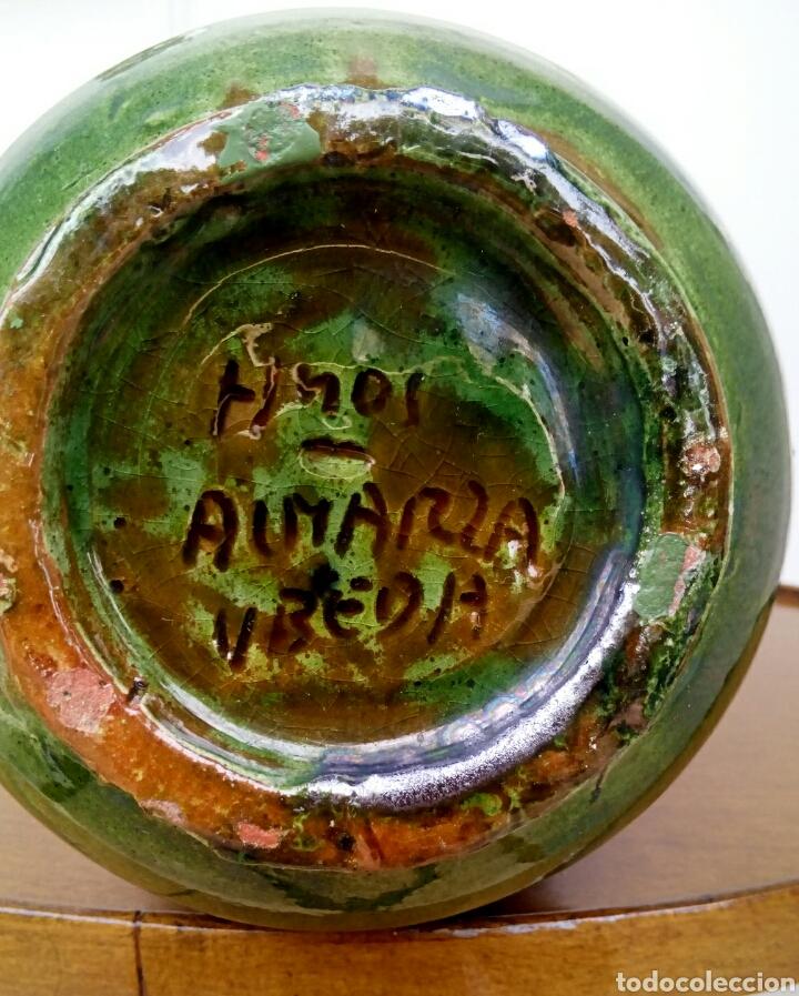 Antigüedades: Jarra hermanos almarza Ubeda. Ceramica esmaltada. - Foto 5 - 176441859