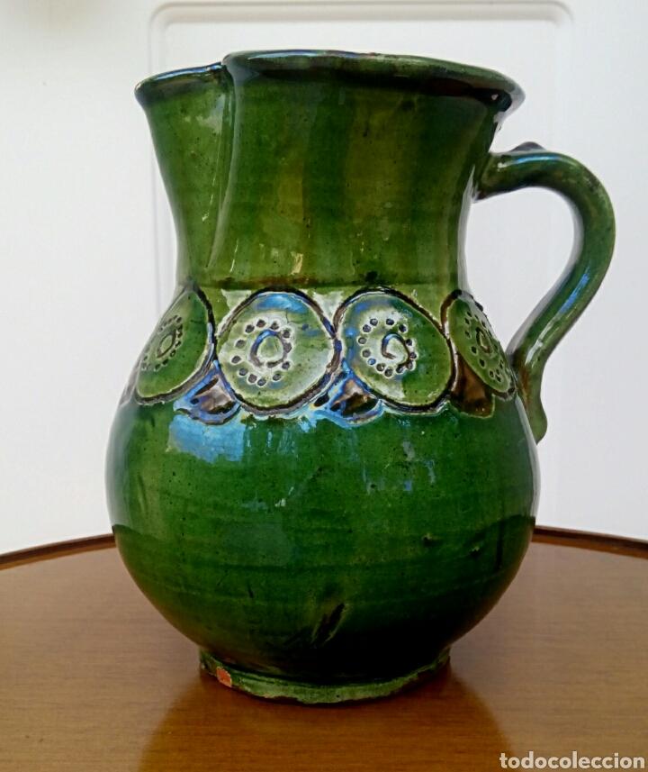 JARRA HERMANOS ALMARZA UBEDA. CERAMICA ESMALTADA. (Antigüedades - Porcelanas y Cerámicas - Úbeda)