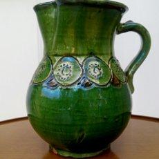 Antigüedades: JARRA HERMANOS ALMARZA UBEDA. CERAMICA ESMALTADA.. Lote 176441859