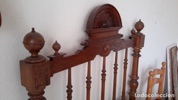 Antigüedades: Cama antigua - Foto 6 - 174994449