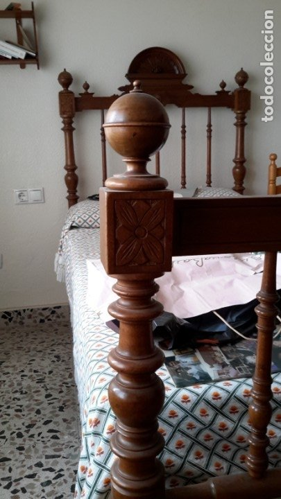 Antigüedades: Cama antigua - Foto 5 - 174994449