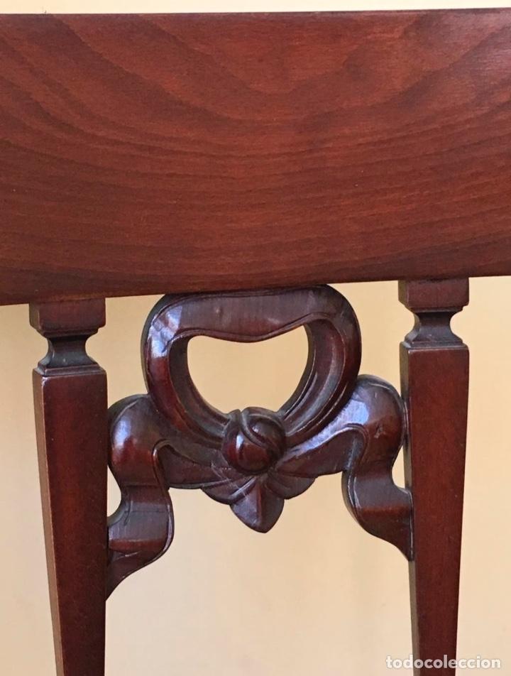 Antigüedades: Pareja de sillas de caoba - Foto 2 - 176481322