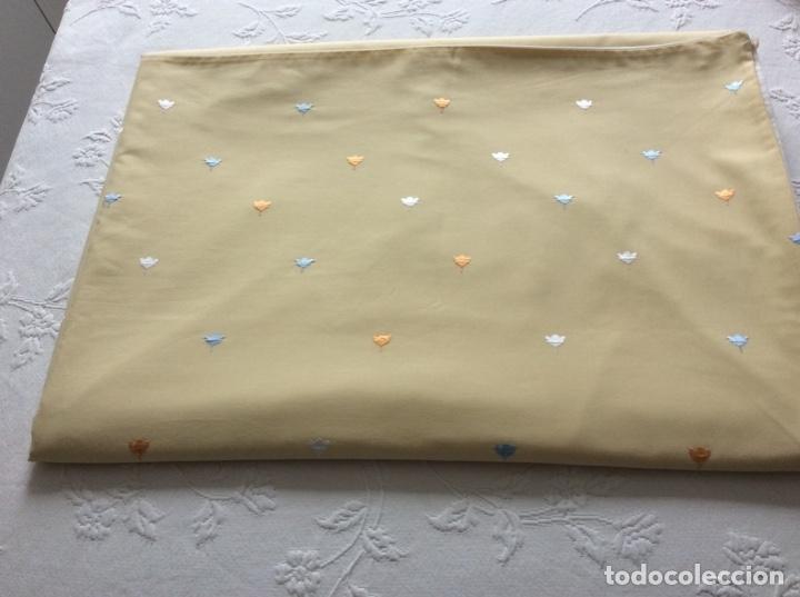 Antigüedades: Funda para edredón-nórdico de la marca Bassols para cama de 1.50/60. - Foto 2 - 176488889