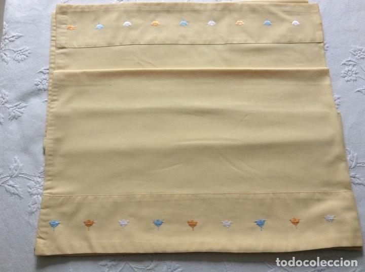 Antigüedades: Funda para edredón-nórdico de la marca Bassols para cama de 1.50/60. - Foto 5 - 176488889