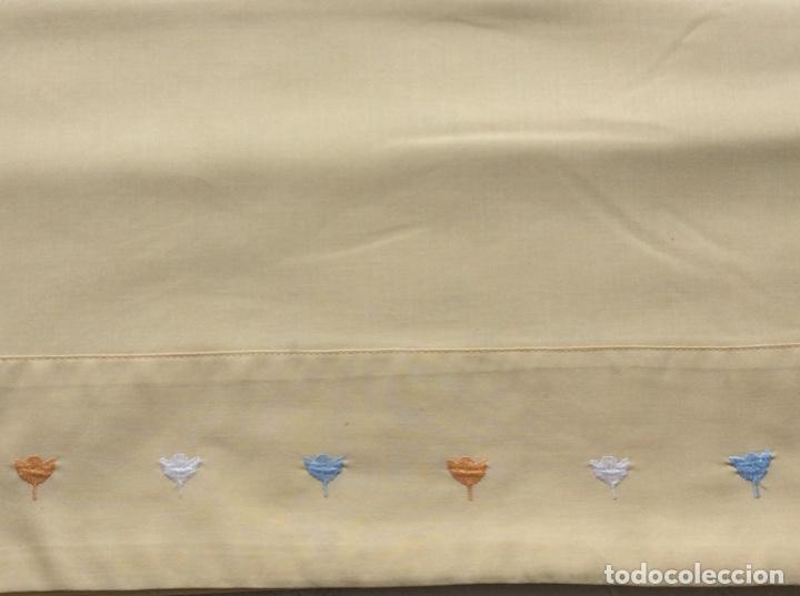 Antigüedades: Funda para edredón-nórdico de la marca Bassols para cama de 1.50/60. - Foto 6 - 176488889