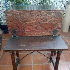 Antigüedades: BANQUETA XIX.. Lote 176488904
