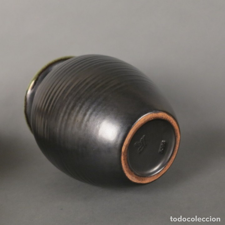 Antigüedades: Florero de ceramica de la Majolika Karlsruhe de Martha Katzer. 1939 - Foto 5 - 176511168