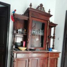 Antigüedades: APARADOR FINALES DEL SIGLO XIX PRINCIPIOS DEL XX. DOS CUERPOS. . Lote 176521338