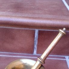 Antigüedades: ALMIREZ DE BRONCE MACIZO. Lote 176521868