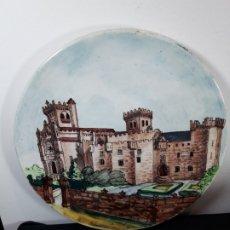 Antigüedades: PLATO DECORATIVO CERAMICA. Lote 176533347