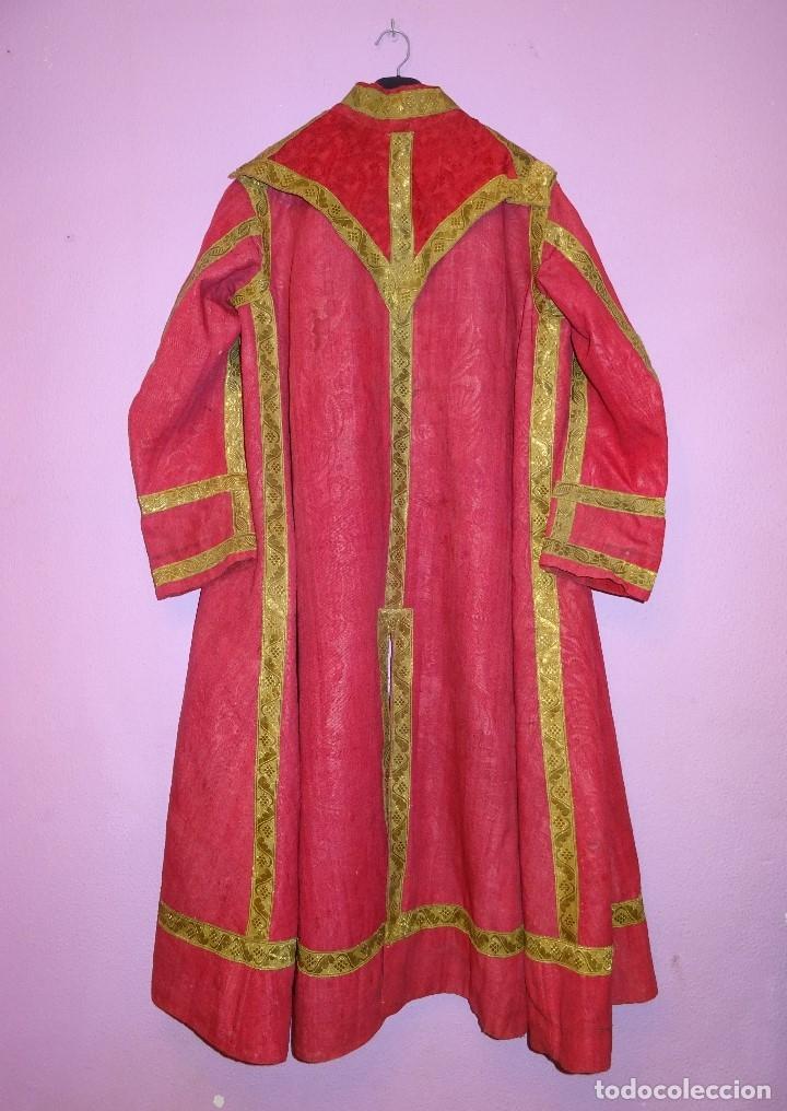 DALMATICA SIGLO XVIII (Antigüedades - Religiosas - Dalmáticas Antiguas)