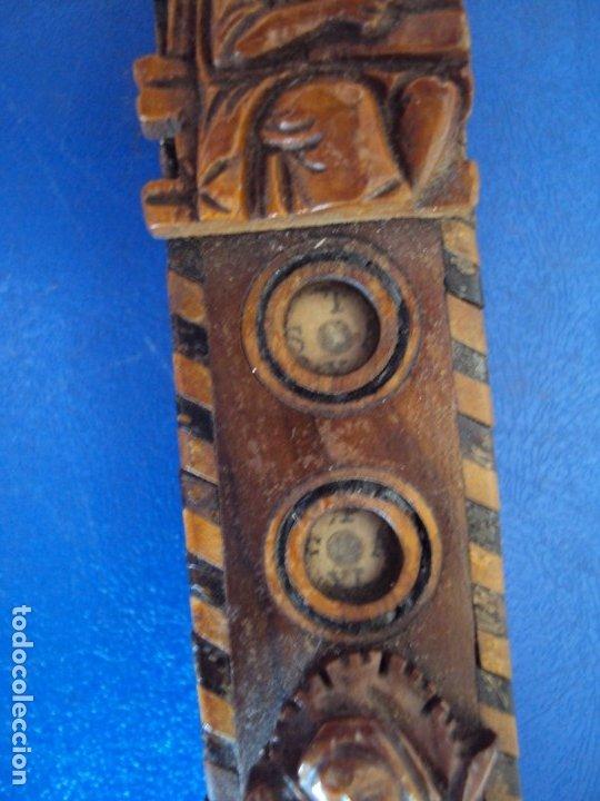 Antigüedades: (ANT-190956)CRUZ RELICARIO EN MADERA DE OLIVO - SIGLO XIX - Foto 9 - 176548735