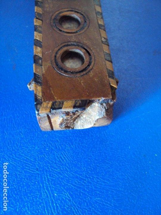Antigüedades: (ANT-190956)CRUZ RELICARIO EN MADERA DE OLIVO - SIGLO XIX - Foto 12 - 176548735