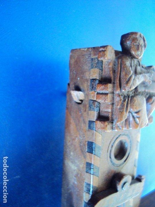 Antigüedades: (ANT-190956)CRUZ RELICARIO EN MADERA DE OLIVO - SIGLO XIX - Foto 13 - 176548735