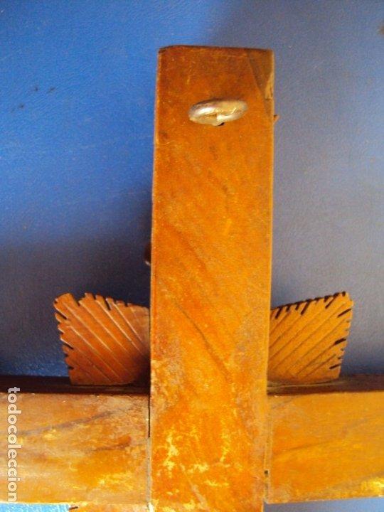 Antigüedades: (ANT-190956)CRUZ RELICARIO EN MADERA DE OLIVO - SIGLO XIX - Foto 23 - 176548735
