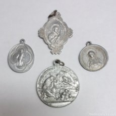 Antigüedades: LOTE DE MEDALLAS RELIGIOSAS. Lote 176556248