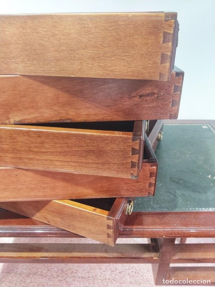 Antigüedades: Escritorio Bureau Plat en Roble Siglo XX - Foto 18 - 176561738