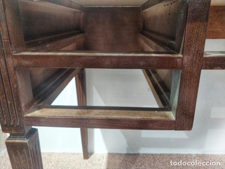 Antigüedades: Escritorio Bureau Plat en Roble Siglo XX - Foto 19 - 176561738