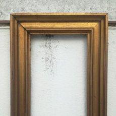 Antigüedades: ANTIGUO MARCO PAN DE ORO.. Lote 176585618