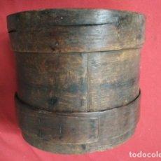 Antigüedades: ANTIGUA MEDIDA DE GRANO. Lote 176598710