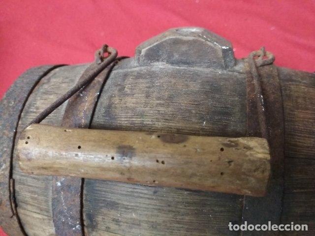 Antigüedades: ANTIGUO BARRIL DE MADERA - Foto 4 - 176598905