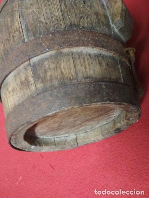 Antigüedades: ANTIGUO BARRIL DE MADERA - Foto 7 - 176598905