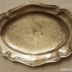 Antigüedades: BANDEJA DE PLATA. PUNZONADO MADRID-1779. Lote 110499039