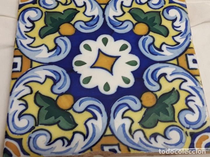 Antigüedades: Antiguo azulejo baldosa - Foto 4 - 176611077