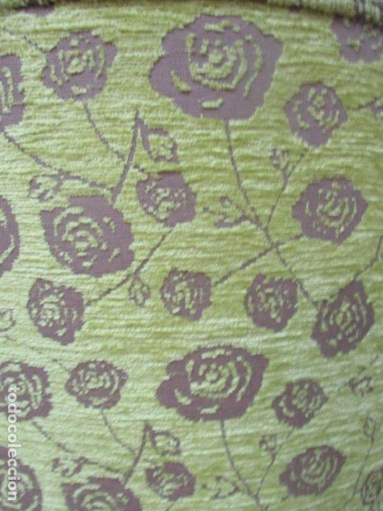 Antigüedades: Decorativo Sillón Calzador - Art Deco - Madera de Caoba - Tapicería Perfecta - Foto 9 - 176620368