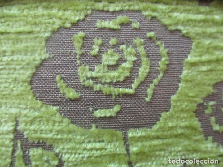 Antigüedades: Decorativo Sillón Calzador - Art Deco - Madera de Caoba - Tapicería Perfecta - Foto 10 - 176620368