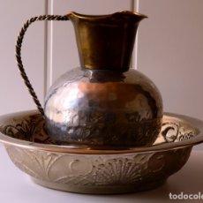 Antigüedades: JOFAINA Y JARRA AGUAMANIL. Lote 176631190